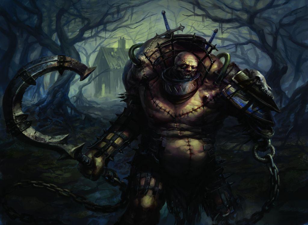 Grimgrin Corpse Born Peter Mohrbacher Mtg Art Peter Mohrbacher Art