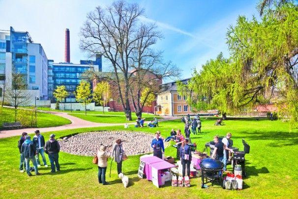 #RestaurantDay im #August in #Helsinki: einer der top Tipps diesen #Sommer  © Timo Santala - http://www.nordicmarketing.de/helsinki-top-5-im-sommer/
