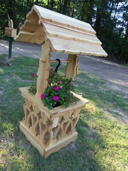 Wishing Well Planter Berry Basket Collection Make A Wish In The