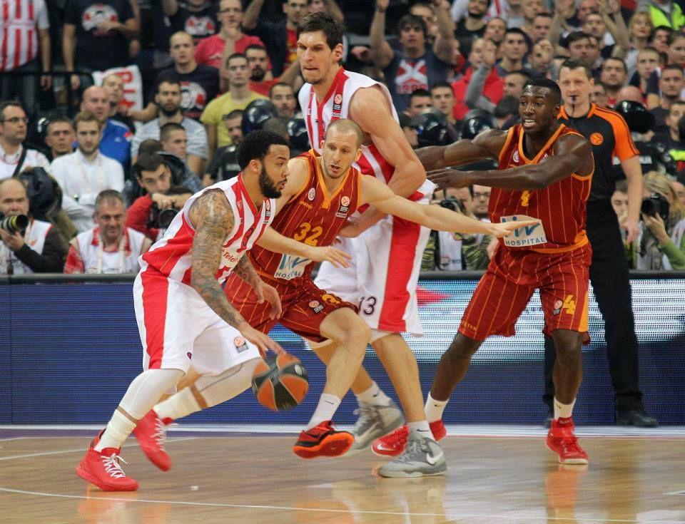 Euroleague Crvena Zvezda Galatasaray Photo Antonio
