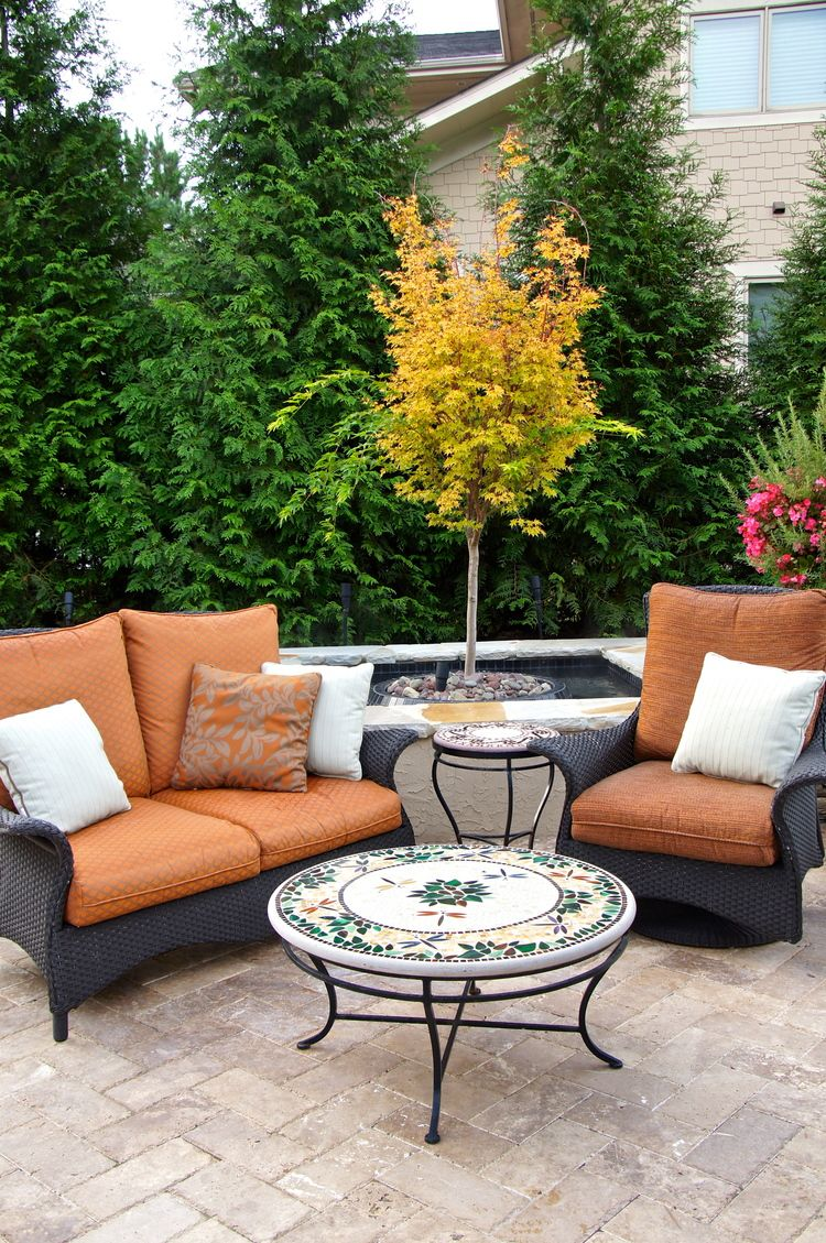 Outdoor Living by Designs on Madison Interior design