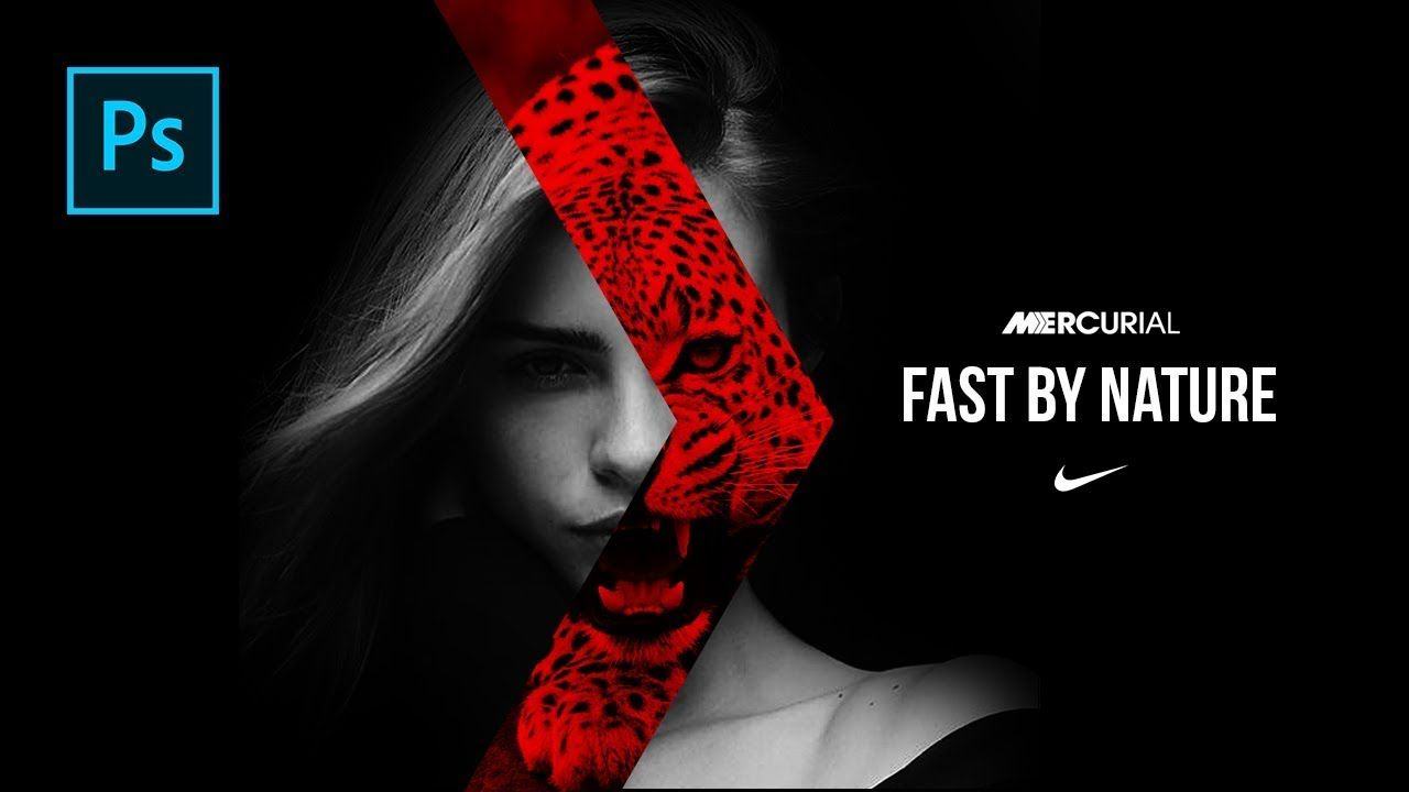 Cara Edit Foto Seperti Poster Nike Born Mercurial di Photoshop