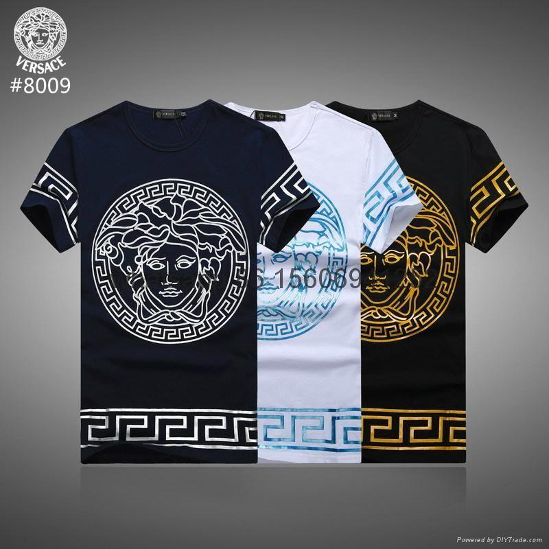 7e4c83e65 Resultado de imagen para versace t shirt | Camisetas | Versace t ...