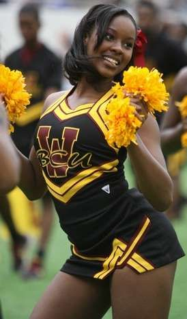 4e44904c3 Bethune-Cookman University Cheerleaders at the 32nd Florida Classi ...