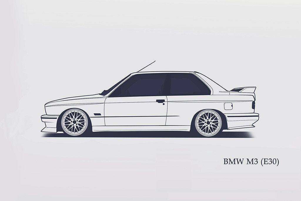 Bmw E30 M3 3 Series Poster Bmw E30 Luv Pinterest Bmw E30 Bmw