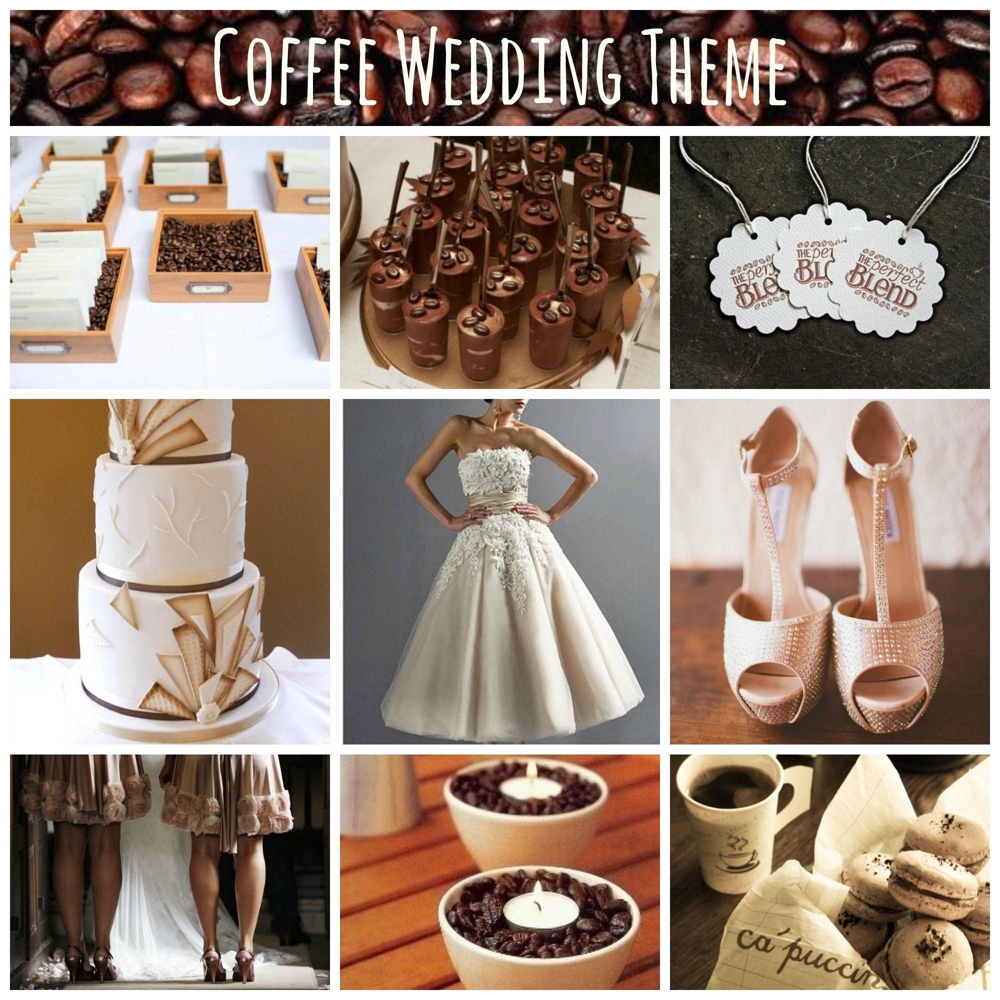 Coffee wedding theme wedding themes starbucks wedding