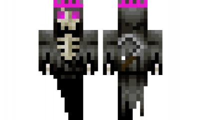 Minecraft Skin Fantasma Rey Skins Minecraft Pinterest - Skin para minecraft pe rey
