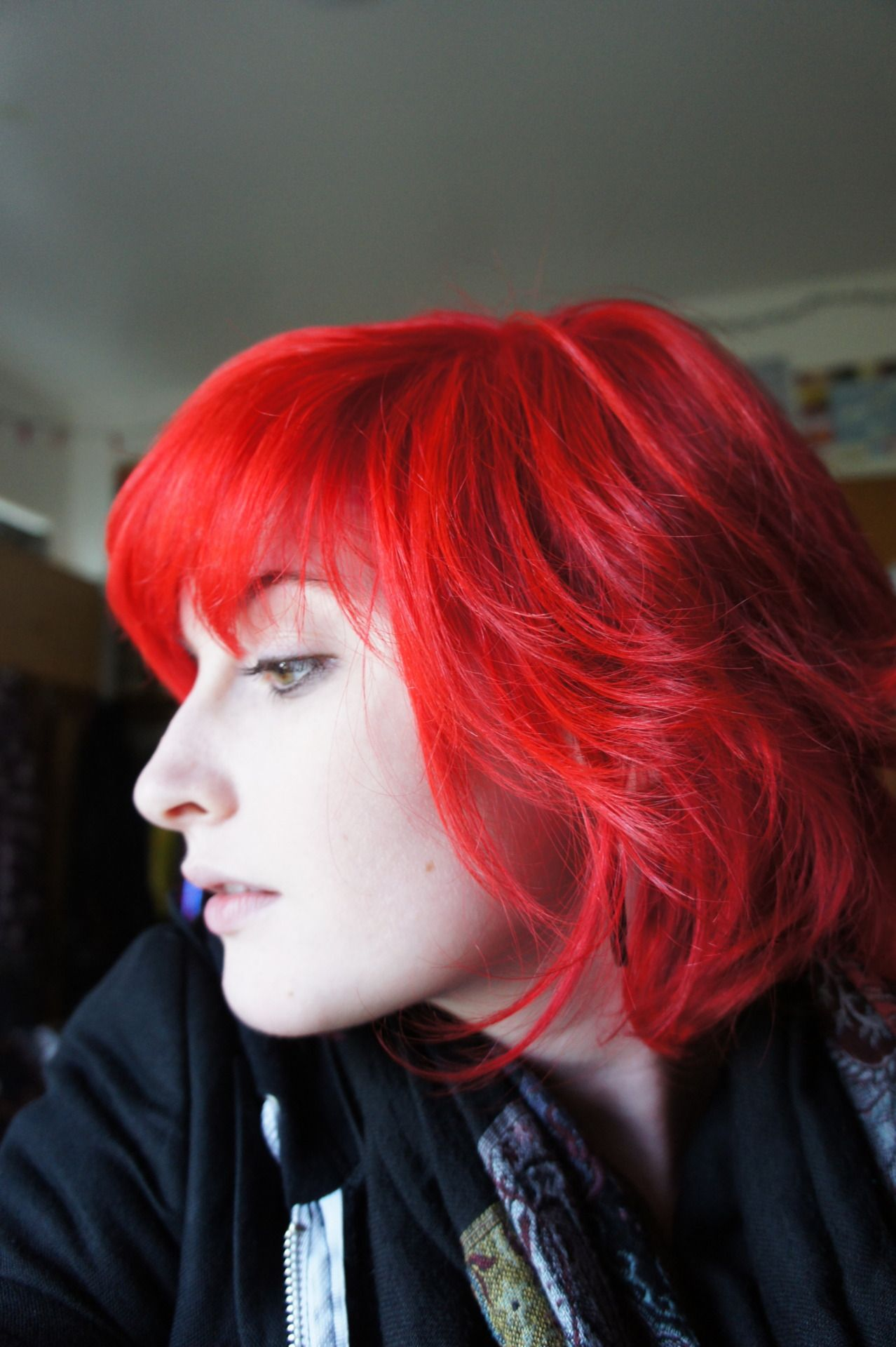 Short red hair if only work let me wear my hair this bright hair