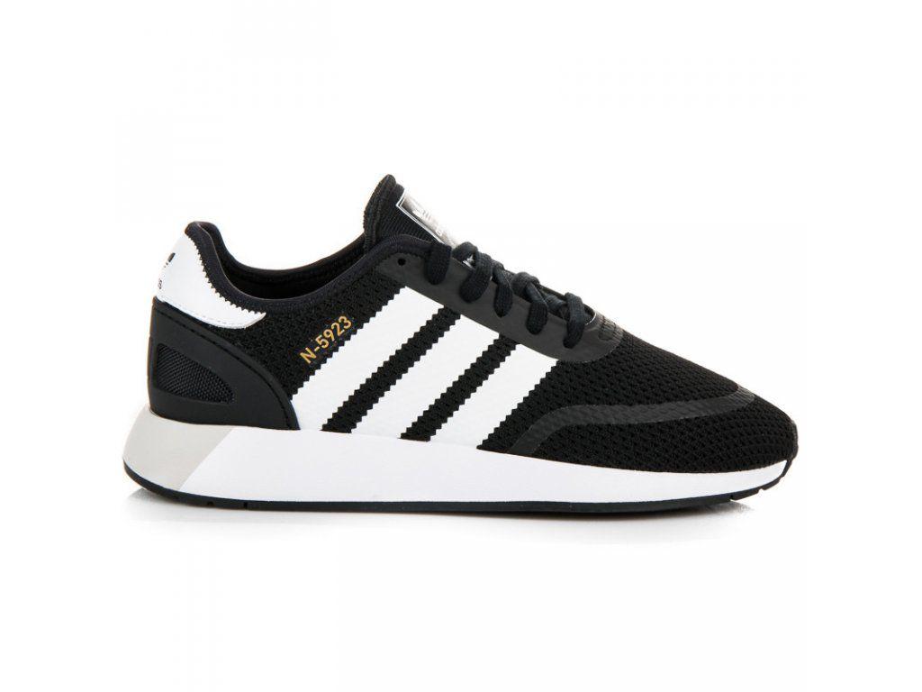 Pánske čierne tenisky Adidas N-5923  70030cdd089