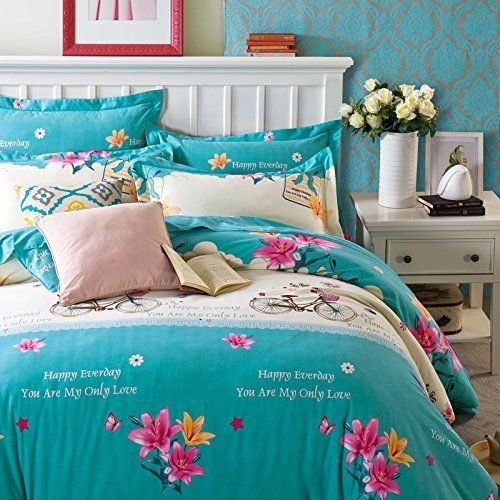 casa 100 cotton kids bedding set girls princesses elsa anna duvet