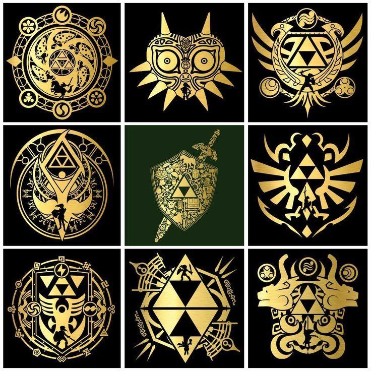Pin by shadowjoker8 on anatomy artwork Zelda tattoo