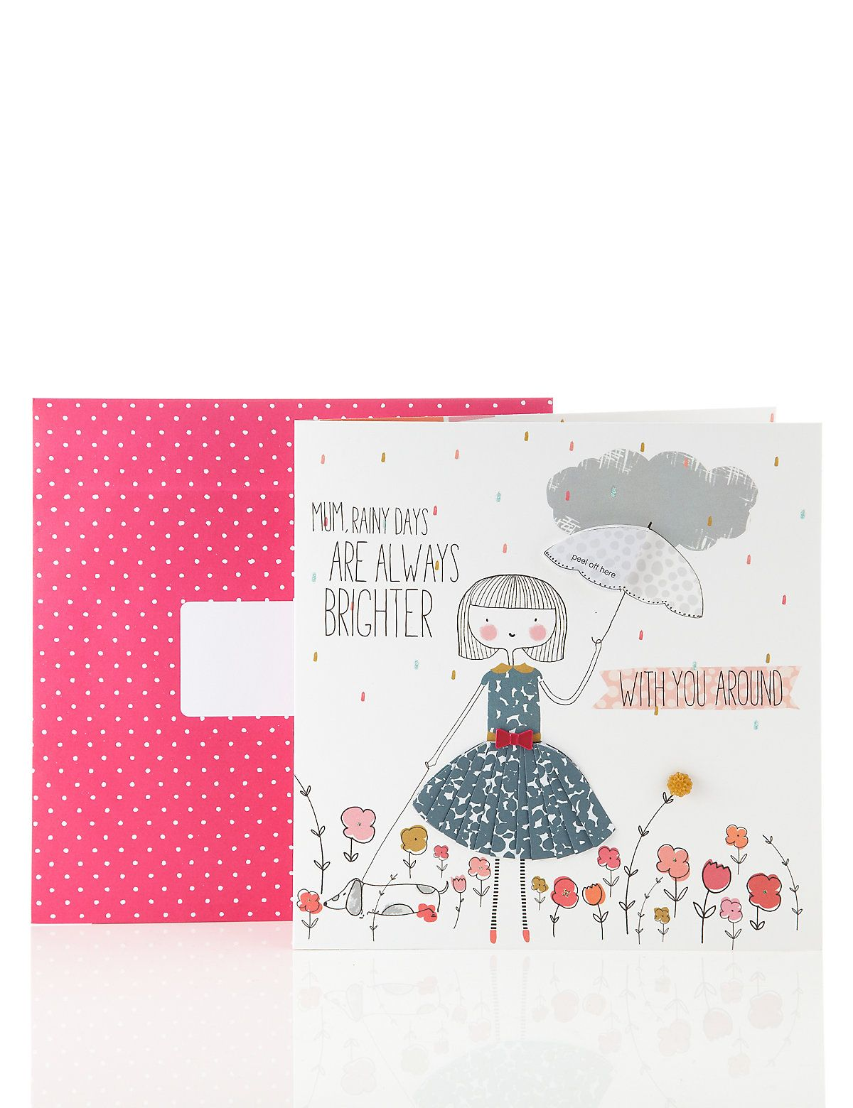 Rainy day mothers day card ms birthday pinterest cards rainy day mothers day card ms kristyandbryce Image collections