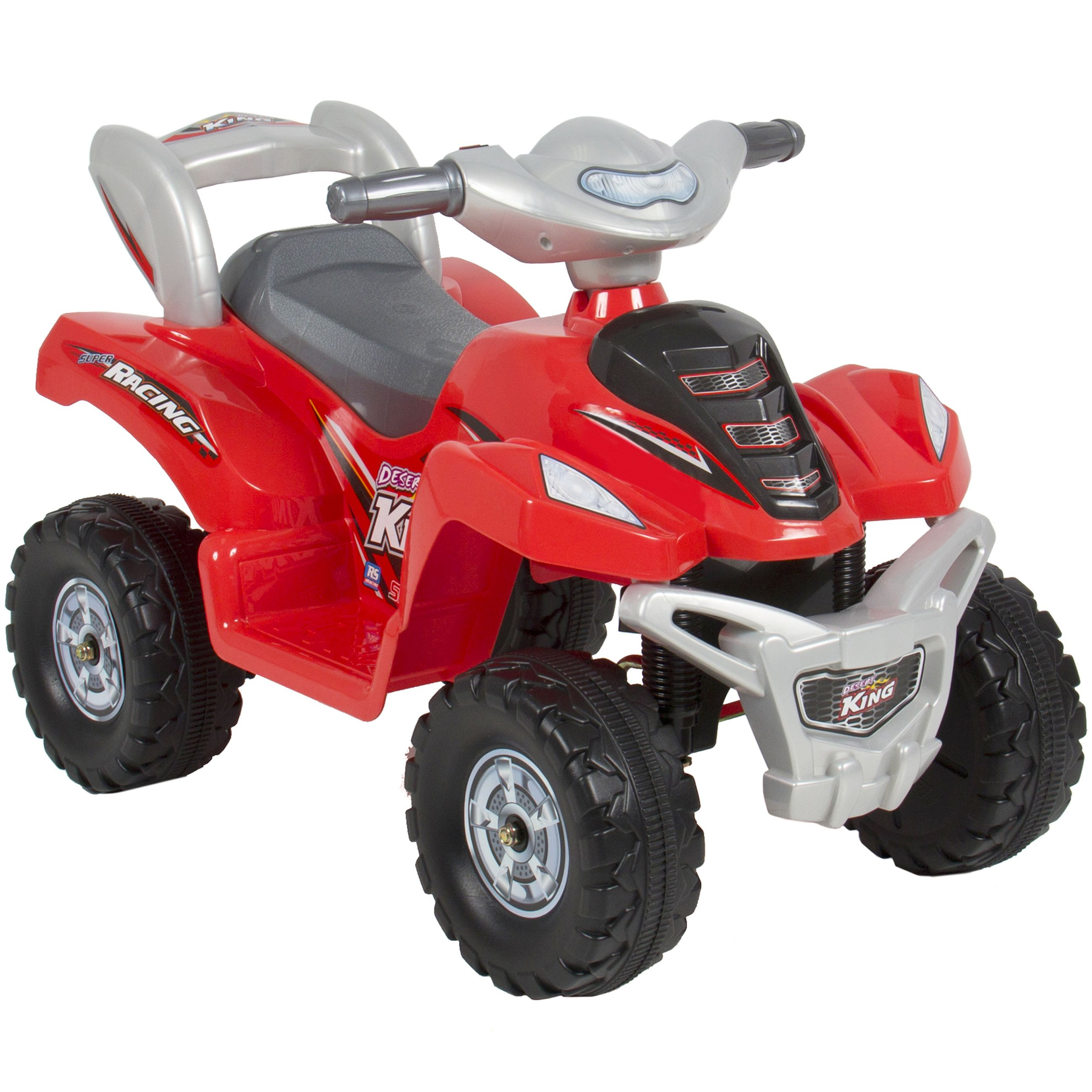 Kids Ride On Atv 6v Toy Quad Battery Power Electric 4 Wheel Power