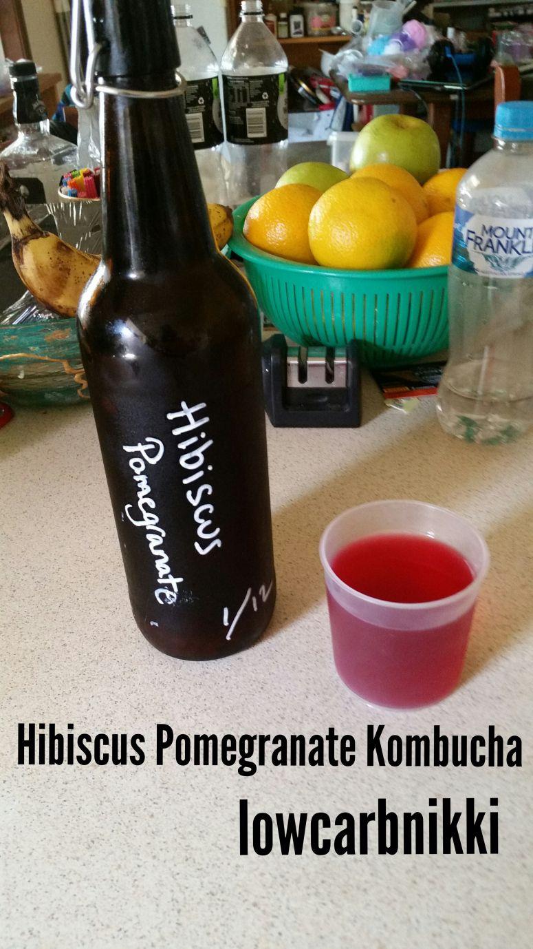 hibiscus kombucha on keto diet