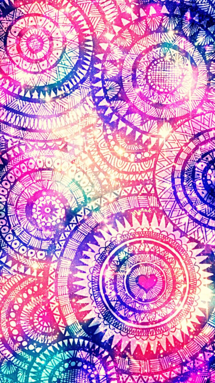Tribal Pattern Wallpaper/Lockscreen Girly, Cute