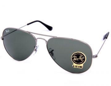 9a8db5c34f9b4 Oculos de Sol Ray Ban Aviador RB3025 Grafite   My Style  3 ...