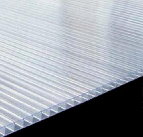 MultiLite 6mm Clear 4' x 8' Twin Wall Polycarbonate ...