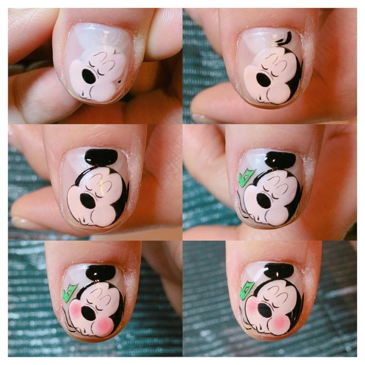 Best 50 mickey and minnie mouse nail designs 2017/2018 | Mickey and ...