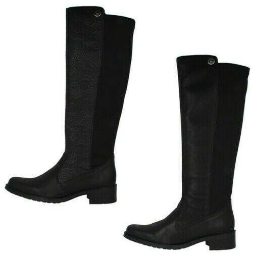 Rieker Stretch Mujer Ocio Botas Antiestrés Zapatos Botas de