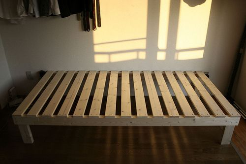 Build a Bed Frame h o m e s w e e t h o m e Pinterest Bed