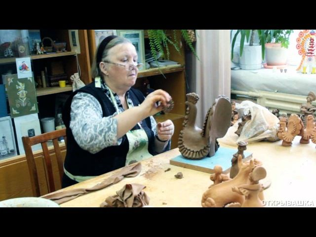 DYMKA Russian toy making