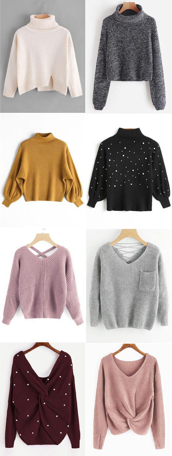 Up to 68% OFF! Slit Oversized Turtleneck Sweater. #Zaful #sweater ...