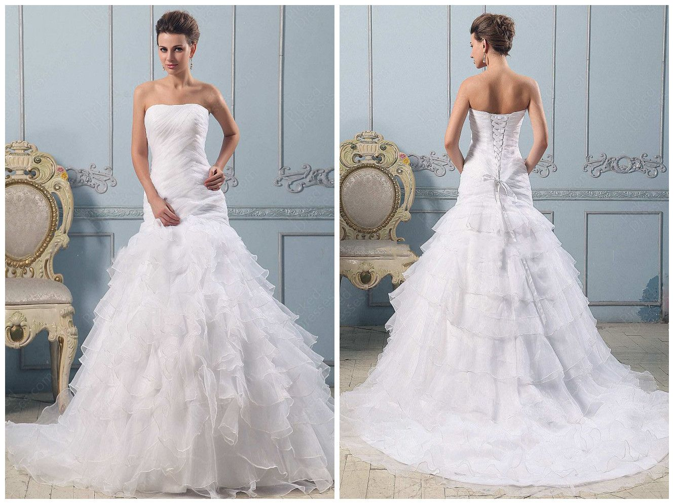 Famous Celine Dion Wedding Gown Pattern - All Wedding Dresses ...