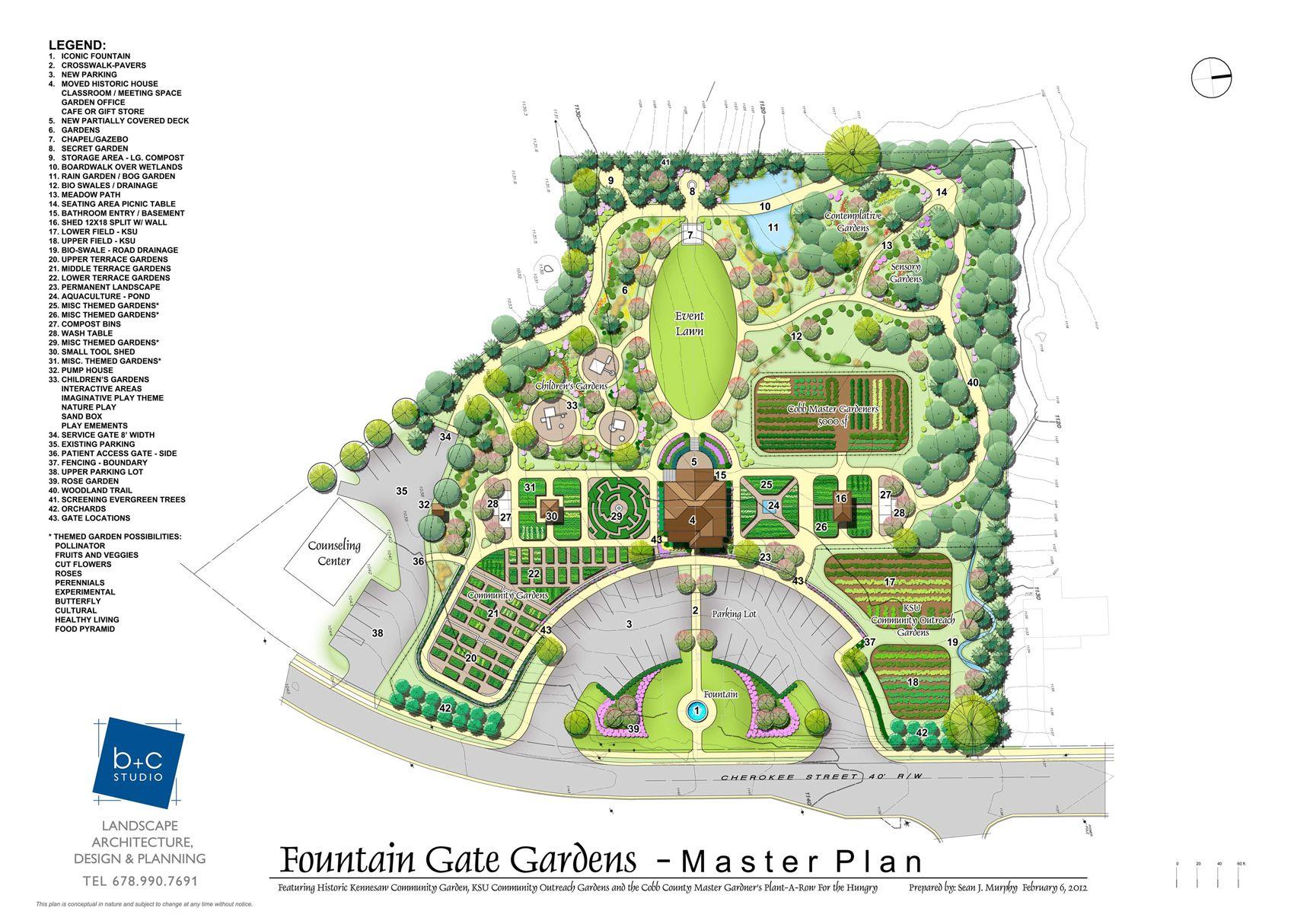 Sensational Small Community Garden Layout On Garden Inspiration With Unusual Small Community Garden Layo Master Plan Landscape Design Landscape Design Drawings