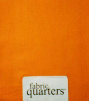 Fabric-Quarters Cotton Fabric-Solids Orange