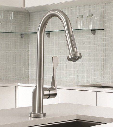 Hansgrohe Kitchen Faucet Faucets Reviews Brizo Artesso Articulating Faucent Consumer Reports