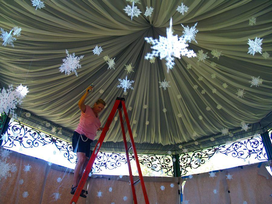 Behind the Scenes, 12 Days of Christmas, Dallas Arboretum