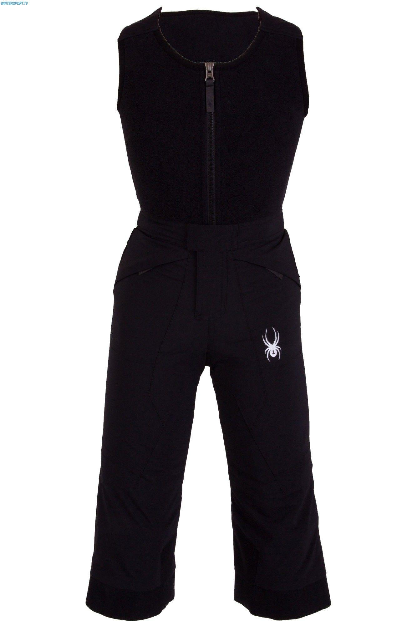 8239974b0 Spyder Mini Expedition Pant - Black | Spyder Kids Ski Wear | Black ...