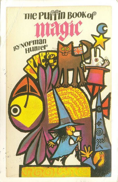 'The Puffin Book of Magic' (Norman Hunter) by Jill McDonald