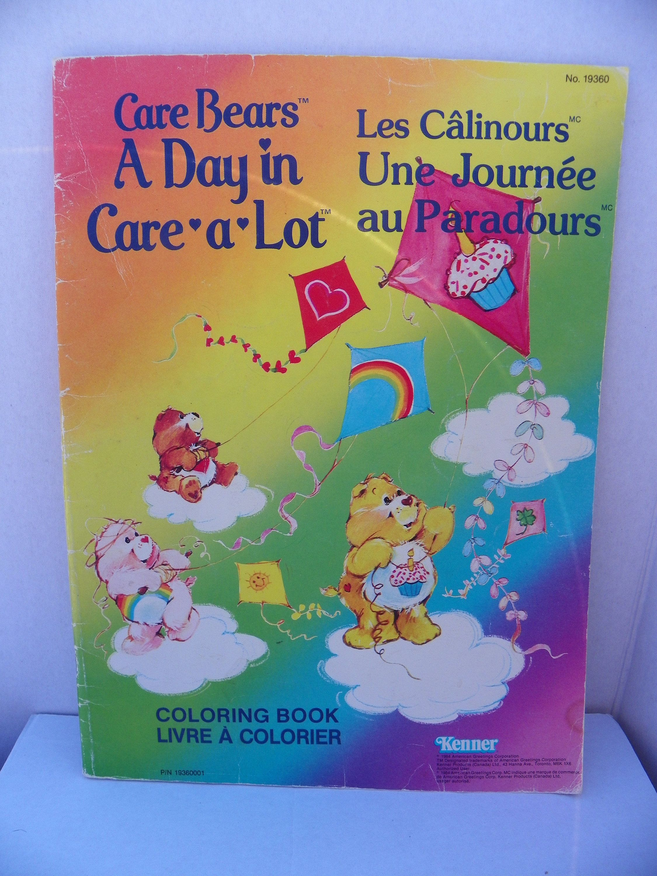 1984 care bears coloring book vintage kenner american greetings 1984 care bears coloring book vintage kenner american greetings company care bears coloring book a day in care a lot kids color book m4hsunfo