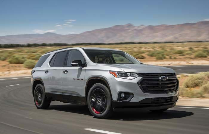 2018 Chevy Traverse Offering Great Makeover Largest Family Suv Ever Chevrolet Traverse Chevrolet Tahoe Chevrolet