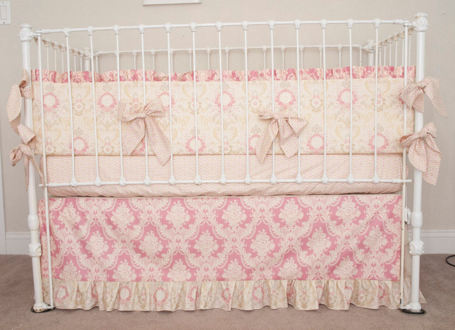 now high custom sheets girls sets elizabeth made cribs berry quality collections bedding for girl crib shop baby anouk allen