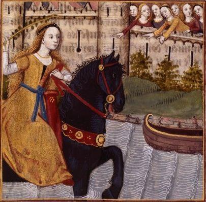 lii fuite de cl lia jeune romaine cloelia a roman maiden giovanni boccaccio 1313 1375. Black Bedroom Furniture Sets. Home Design Ideas