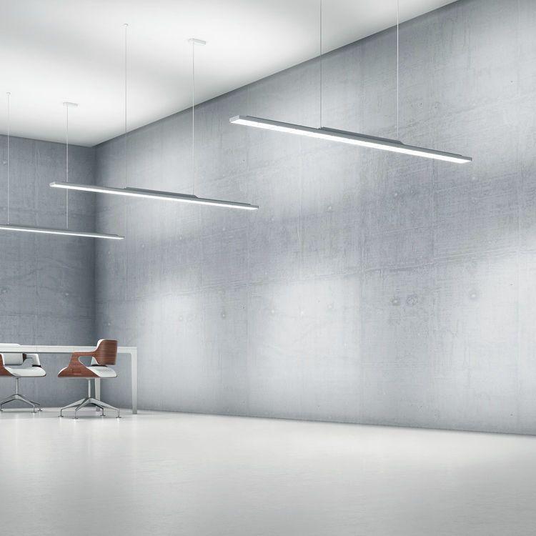Hanging Light Fixture Surface Mounted Led Linear Sequence Zumtobel Hanging Light Fixtures Hanging Lights Light