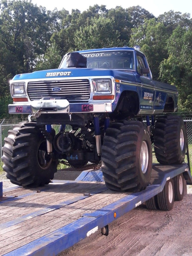 Old School Lifted Trucks Monster Trucks 1979 Ford Truck