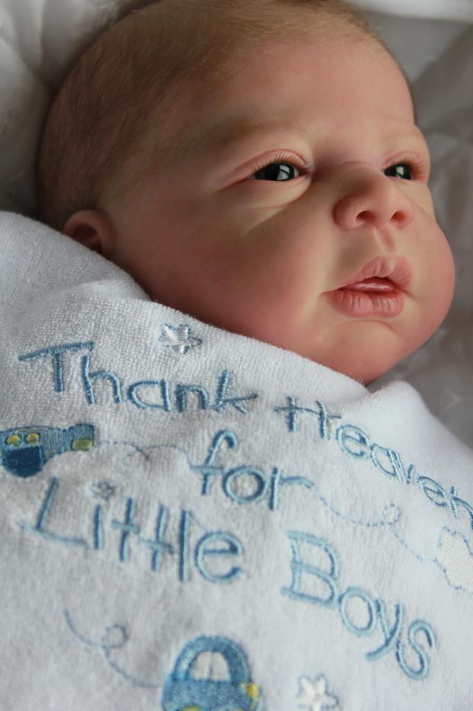 Baby Sunshine Reborn Nursery Boy Doll Michelle Evelina