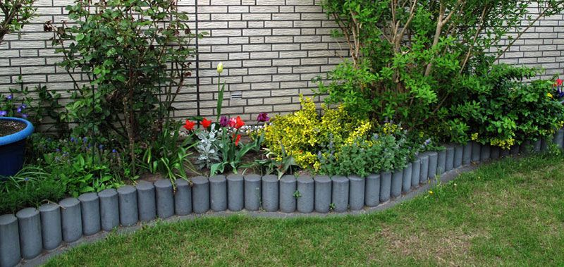 Rasenkante setzen  perfekter bergang zwischen Beet und ...