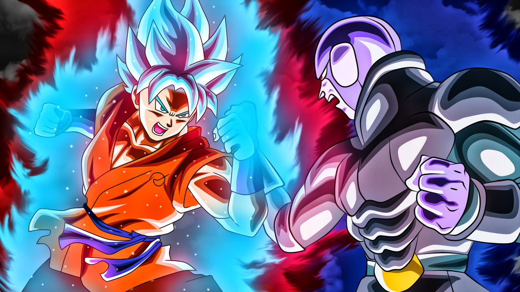 Goku Vs Hit By Rmehedi On Deviantart Dragon Ball Super Goku Dragon Ball Super Manga Dragon Ball Super