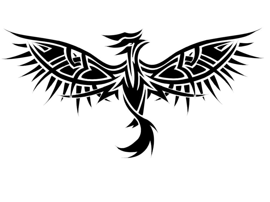 Tribal Phoenix Tattoo Tribal Phoenix Tattoo Phoenix Tattoo Phoenix Back Tattoo