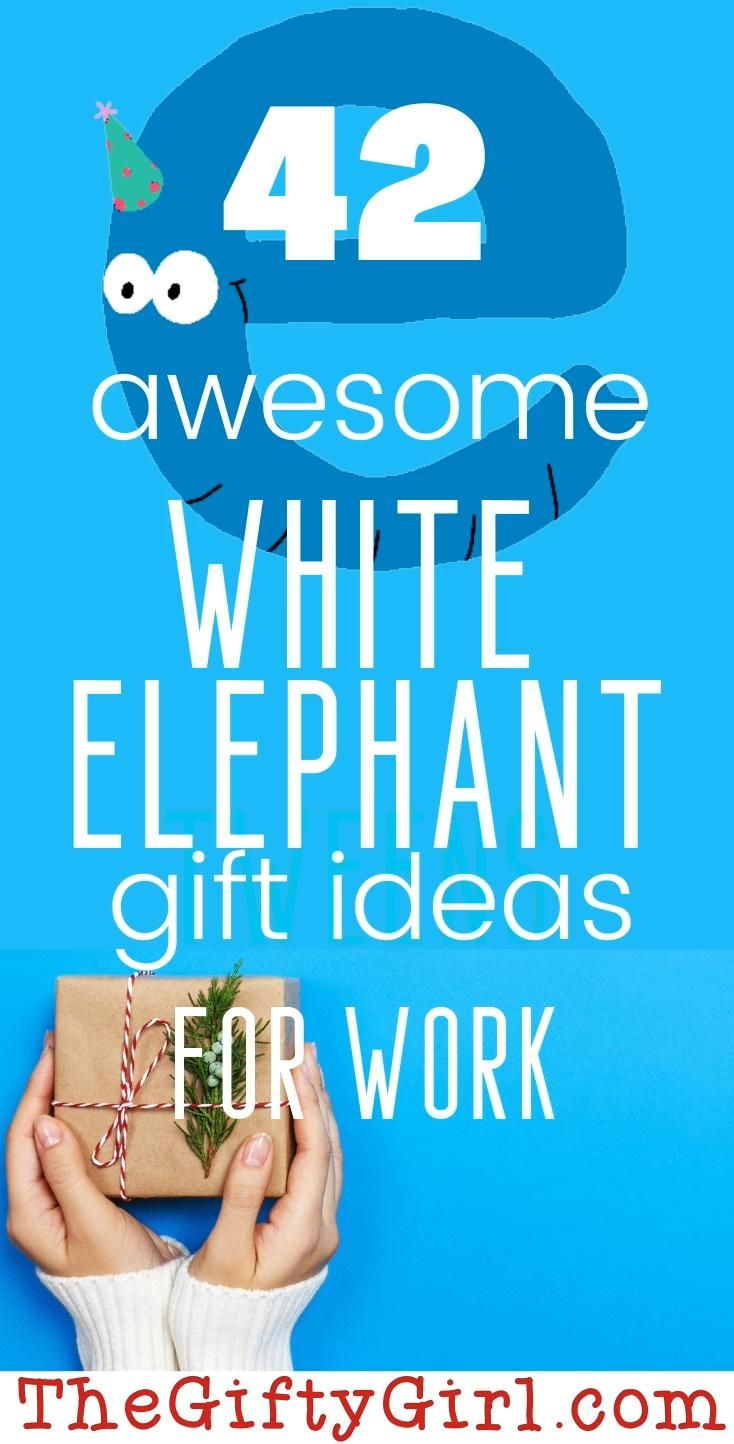 Clever and fun White Elephant Gifts for Work -   19 white elephant gift for work ideas