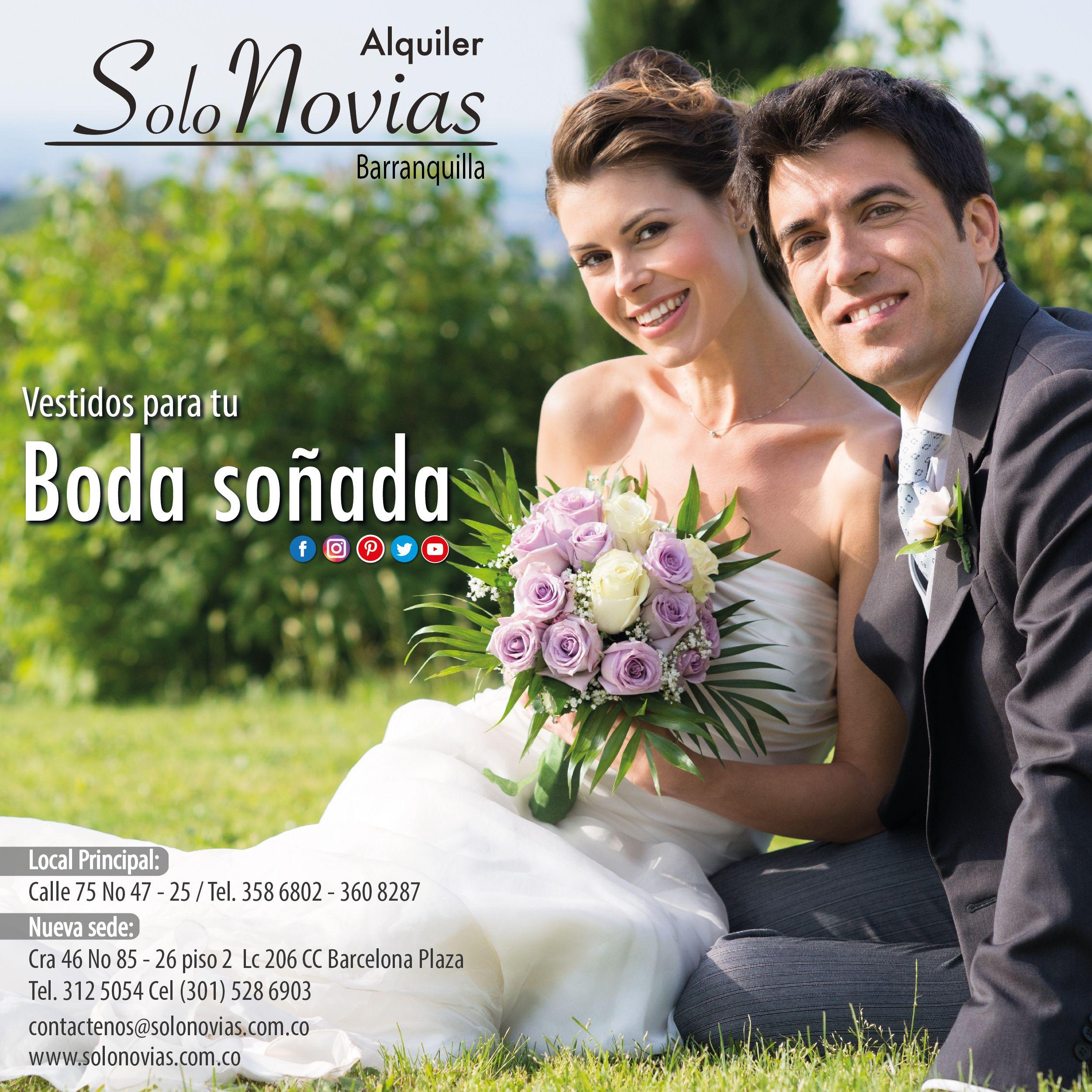 En Solo Novias encuentras el vestido para tu boda soñada. Visítanos  Local  Principal  c83ef13e1cde