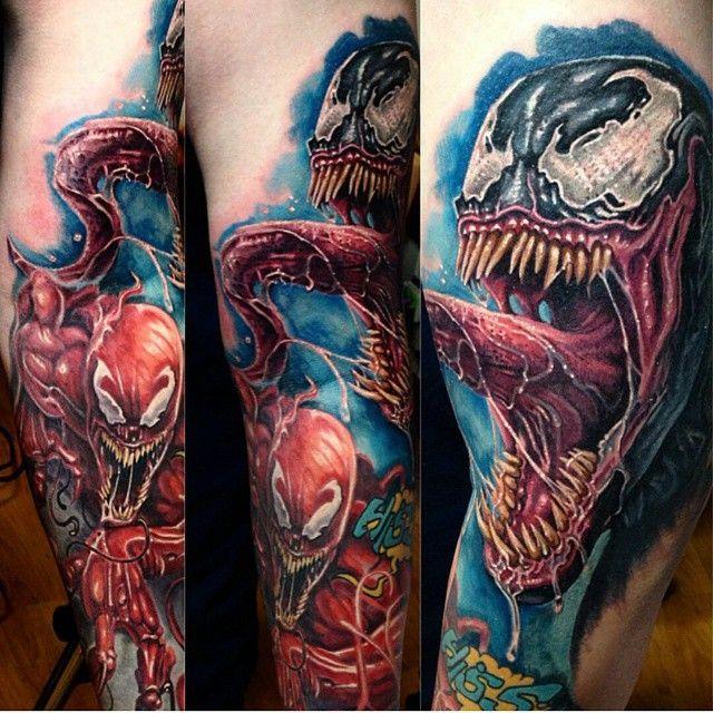 venom and carnage ink tattoos pinterest tattoos venom tattoo and tattoo designs. Black Bedroom Furniture Sets. Home Design Ideas