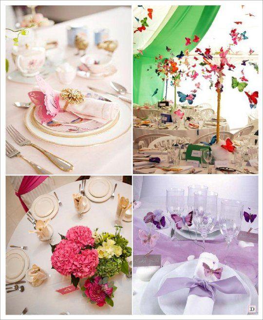 mariage theme papillons idees deco pour le mariage. Black Bedroom Furniture Sets. Home Design Ideas