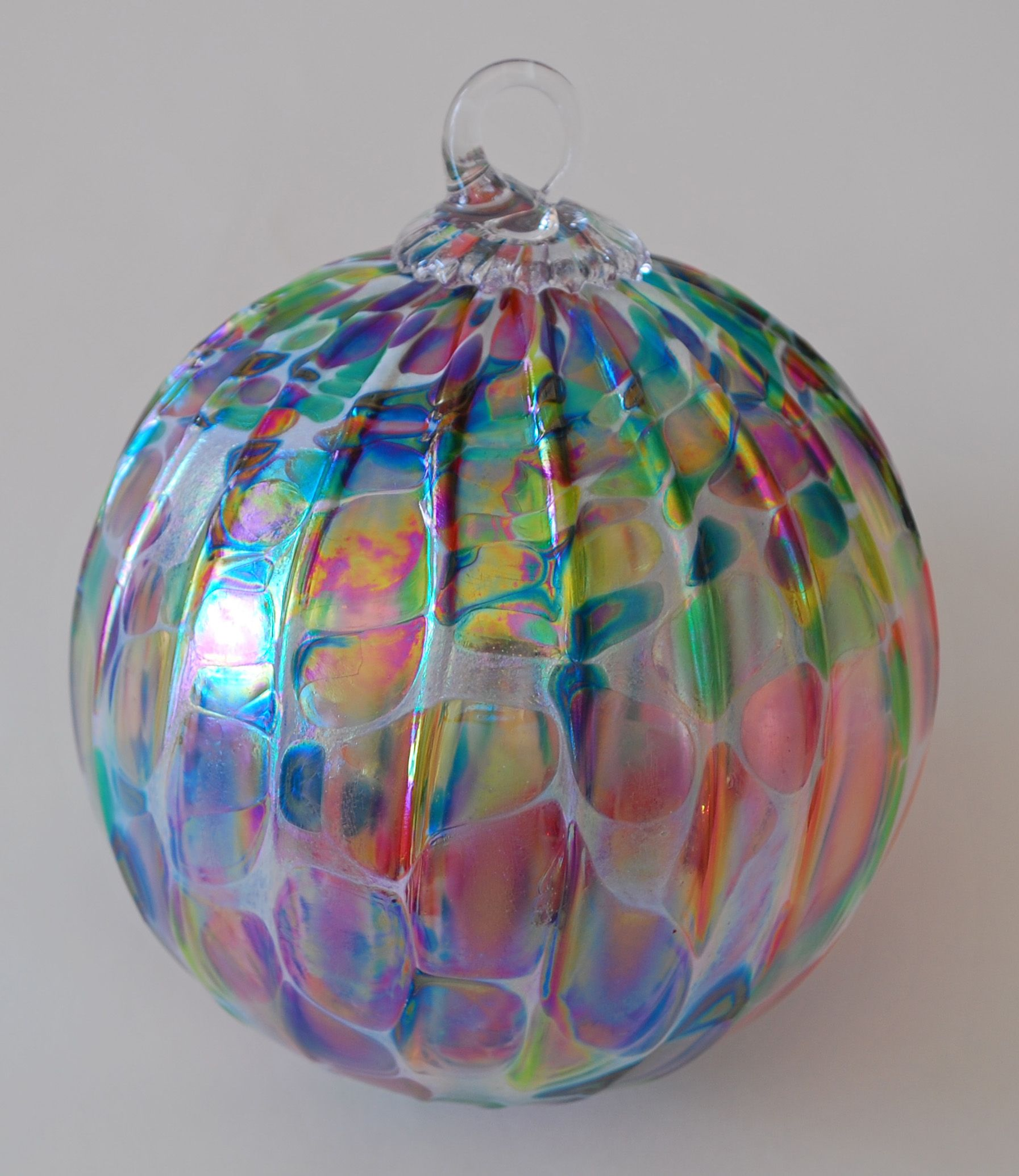 Art Glass Christmas Ornaments