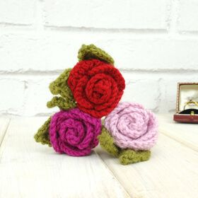 Personalised Crochet Eternal Rose: Item number: 3508401961 Currency: GBP Price: GBP24.95