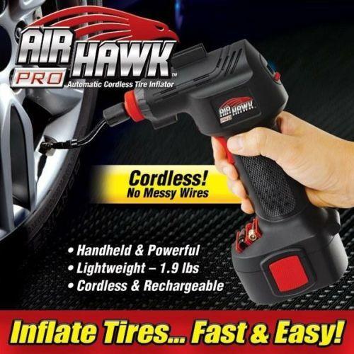 air hawk max cordless digital tyre inflator